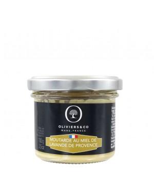 Moutarde au miel de lavande - Oliviers  et  co