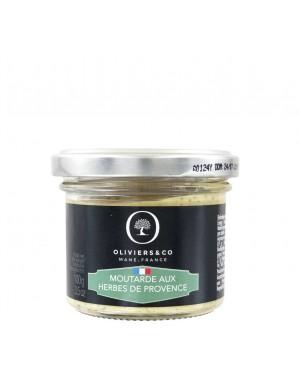 Moutarde aux herbes de Provence - Oliviers  et  co