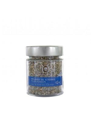Mélange sel  et  herbes pour poisson - Oliviers  et  co