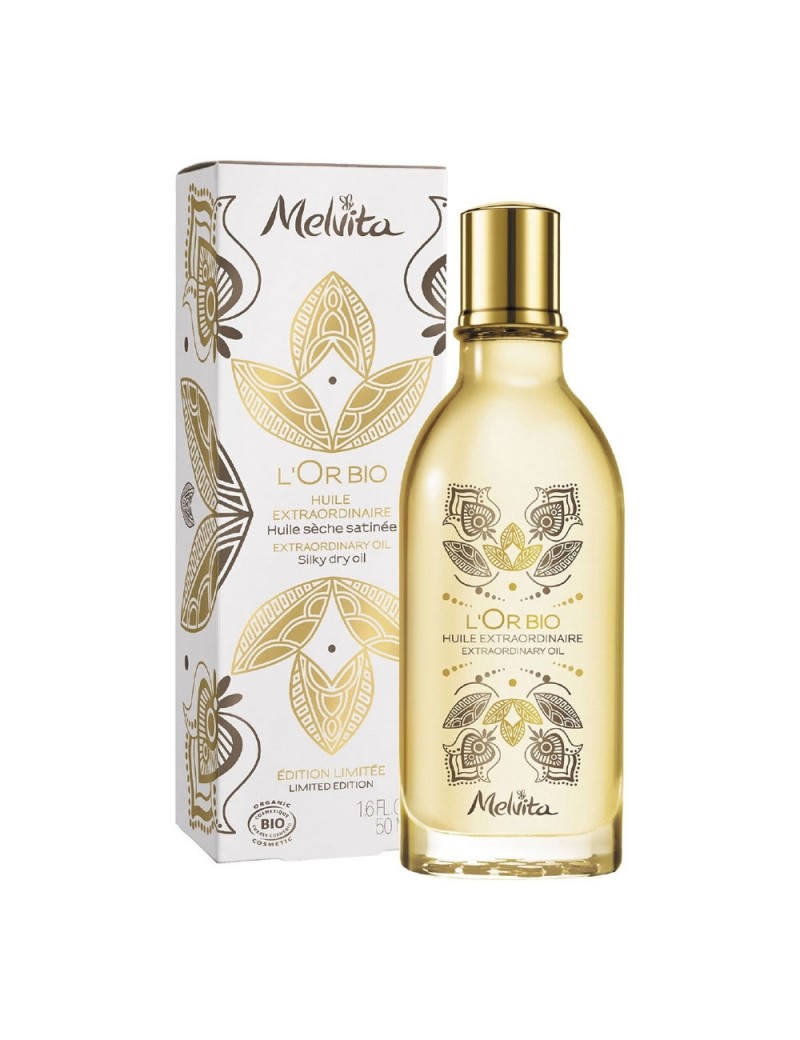 L'Or bio huile extra Edition limitée 50ml - Melvita