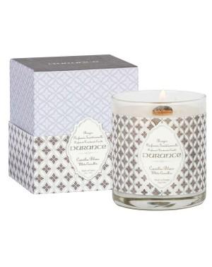 Bougie naturelle parfumée Camélia 280g - Durance