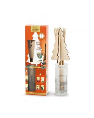 Bouquet parfumé et sa recharge Orange Cannelle 100ml - Esteban