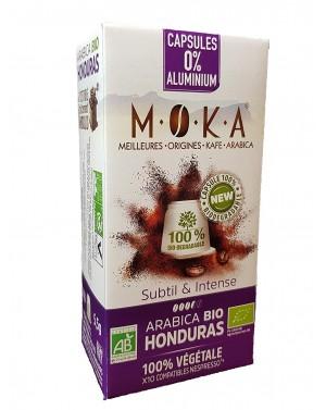 Café en capsule Honduras bio - Moka