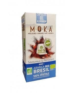 Café en capsules bio Brésil - Moka
