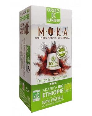 Café en capsule Ethiopie bio - Moka