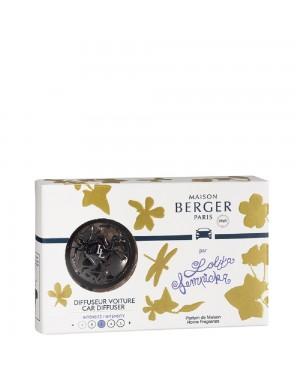 Diffuseur de parfum pour voiture Gun métal Lolita Lempicka - Maison Berger