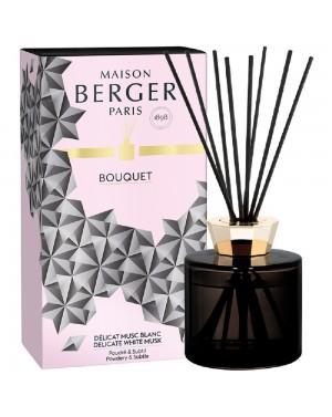Bouquet parfum Black Crystal Délicat musc blanc - Maison Berger