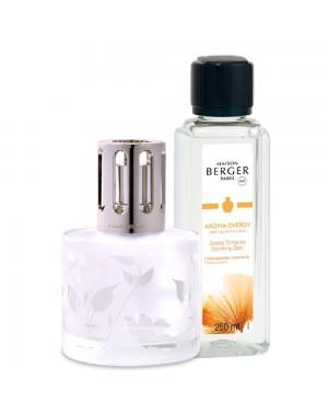 Coffret Lampe Berger Aroma + parfum Energy - Maison Berger