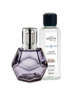 Coffret lampe Berger + parfum Géométrie réglisse - Maison Berger
