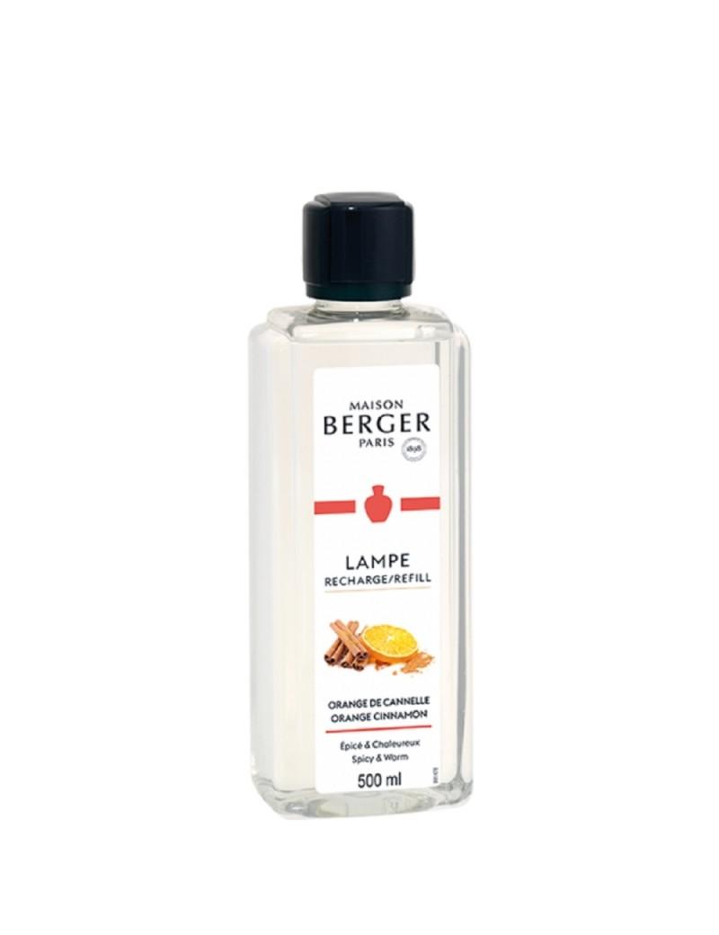 Parfum de maison Orange cannelle - Lampe Berger