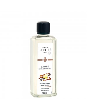 Parfum de maison Poussière d'ambre - Lampe Berger