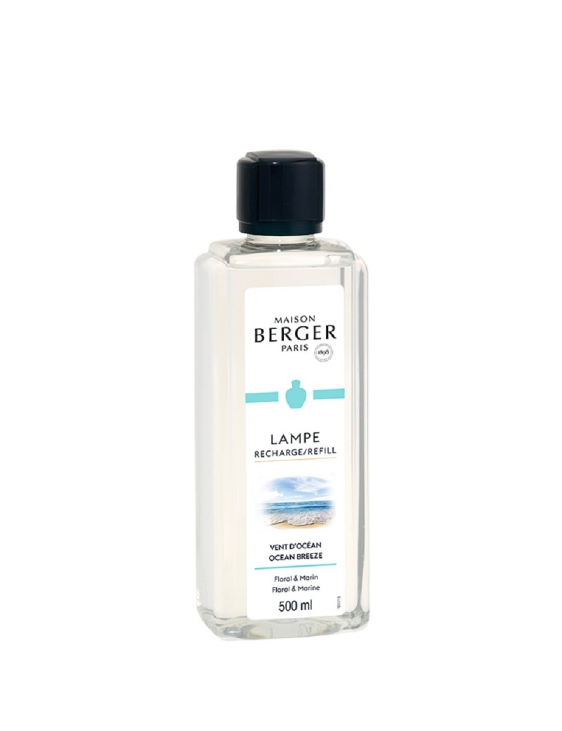 Parfum de maison Vent d'océan - Lampe Berger