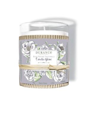 Bougie parfumée traditionnelle Camélia blanc 180g - Durance