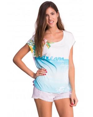 Tee-shirt Cadaques Taille L-XL - Desigual