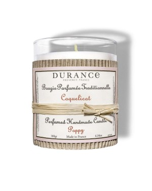 Bougie parfumée traditionnelle Coquelicot - Durance