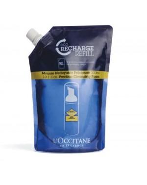 Eco-recharge mousse nettoyante précieuse Imortelle 300ml - L'Occitane