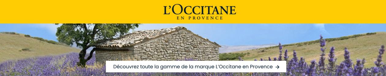 Découvrez toute la gamme de la marque L'Occitane en Provence !