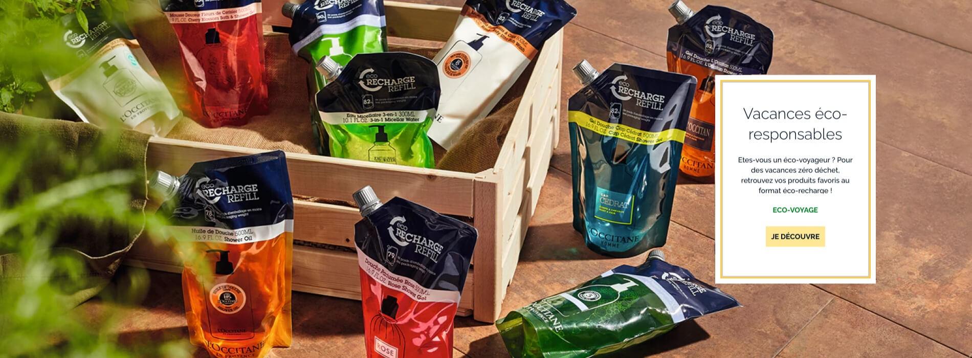 L'Occitane en Provence - Eco-recharges
